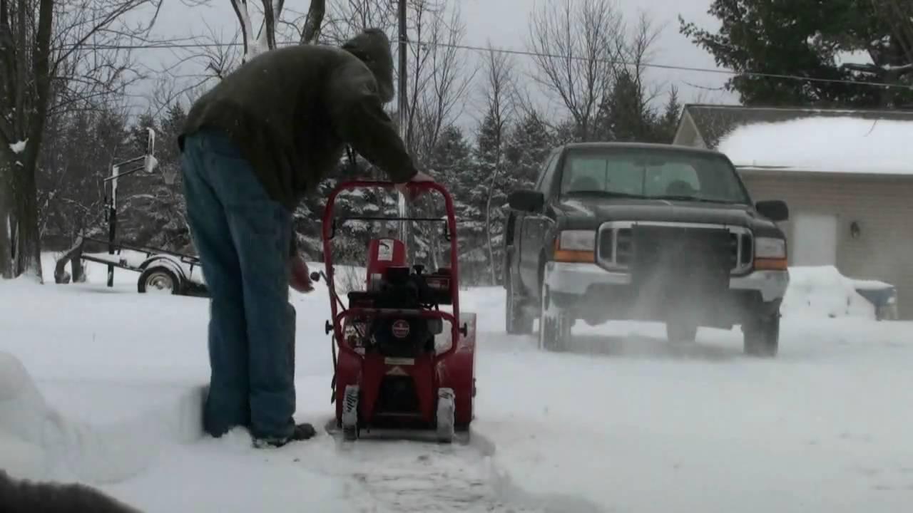 Snow King Snow Blower Replacement Parts : Tecumseh snow king carburetor repair video on troy bilt