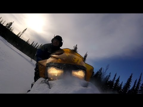 Ski Doo Tundra 600 ACE Ride Mode Comparison