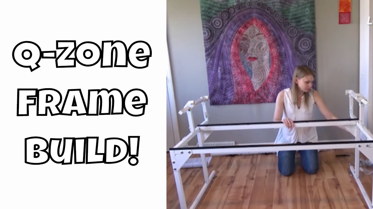 How To Set Up Your Grace Q Zone Frame With A Home Sewing Machine