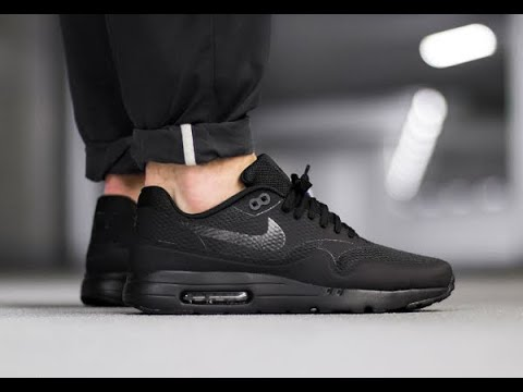 Nike Air Max 1 Ultra Essential | ''BLACK'' | Unboxing / On Feet