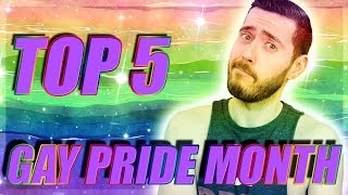 Top 5 Games for Gay Pride Month!
