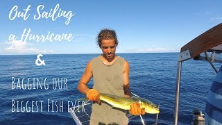 Out Sailing a Hurricane and Bagging our Biggest Fish Yet! [EP 31] | Sailing Millennial Falcon