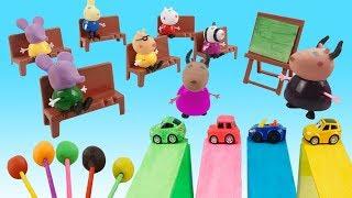Farben lernen für kinder auf englisch - Video farbunterricht - Color lessons