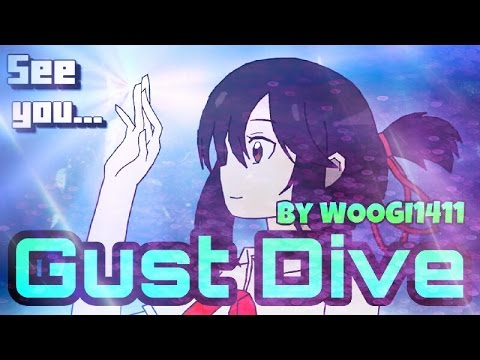 Geometry Dash (Demon) - Gust Dive by WOOGI1411 & more