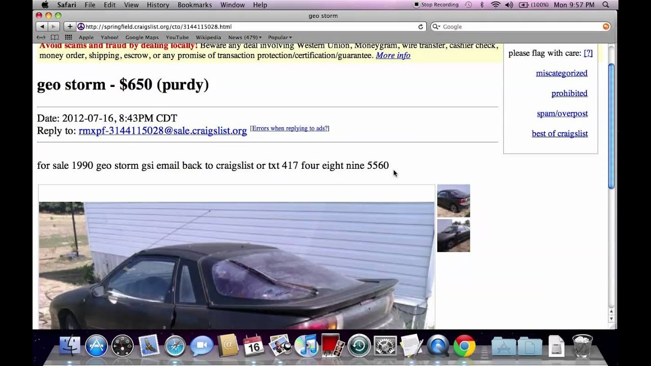 Craigslist Springfield Missouri Used Cars - For Sale by ...