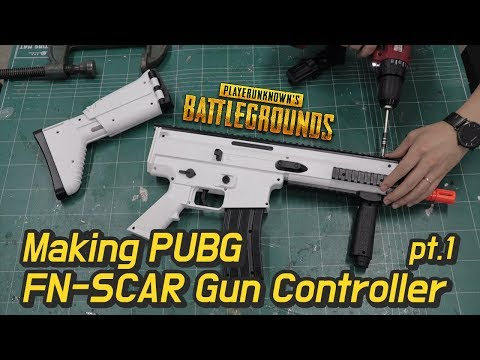 Making PUBG FN-SCAR Gun Controller #1 Recoil Simulator