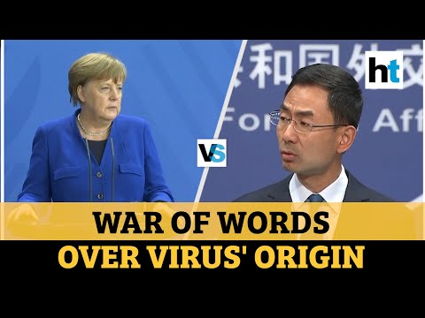 Covid-19: China vs Germany as Angela Merkel demands 'transparency'