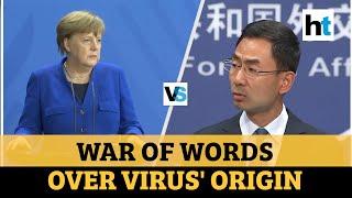 Covid 19 China vs Germany as Angela Merkel demands transparency