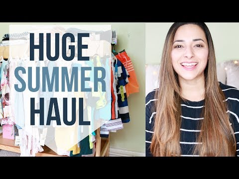 COLLECTIVE SUMMER TRY ON HAUL JULY 2017: Next, H&M, Asda & Primark Haul | Ysis Lorenna