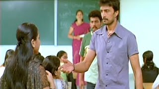 Sudeep Come In Ramya's College | Kannada Movie Junction