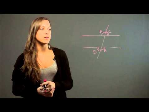 How to Determine Angles Using Plane Geometry : Solutions to Your Math Problems