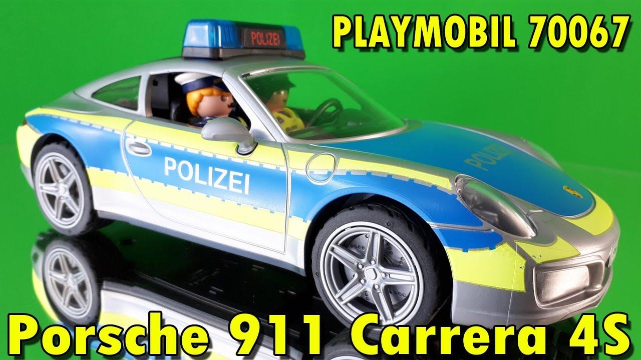 playmobil 70067 polizei porsche 911 carrera 4s zusammenbau vorstellung youtube. Black Bedroom Furniture Sets. Home Design Ideas