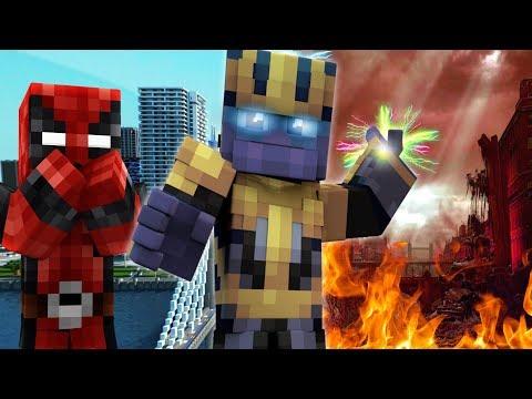 Deadpool: Infinity War - Part One (Minecraft Roleplay) (No Spoilers)