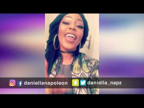 YOUNG MA-oouuuu remix/cover by Daniella Napoleon titled-AWWWWW Viral Video