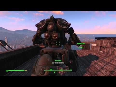 Fallout 4: Siding with Ironsides & The U.S.S Constitution taking off