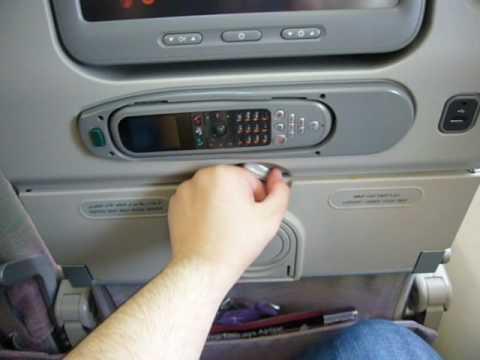 Emirates A380 Economy class seat view
