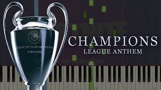 UEFA Champions League Anthem | Piano Tutorial & Sheets