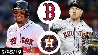 Boston Red Sox vs Houston Astros - Full Game Highlights | May 25, 2019 | 2019 MLB Season
