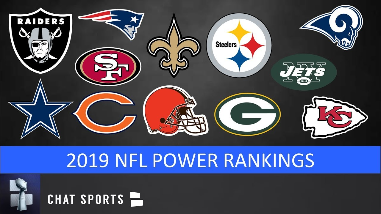 56fc402e 2019 NFL Power Rankings: All 32 NFL Teams From Worst To First