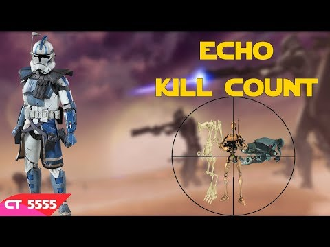 Star Wars Echo Kill Count