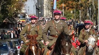 VIII Hubertus Świętokrzyski Kielce 2014 - Korowód uczestników z Katedry