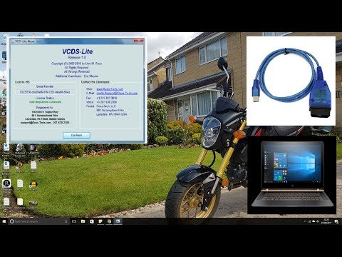 Installing and Registering VCDS Cable or VAG-COM - YouTube