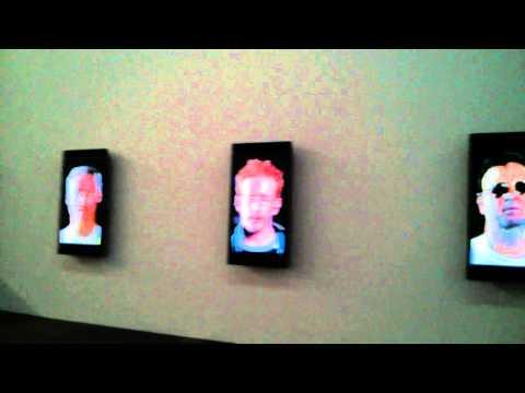 Virtual flash karaoke mob