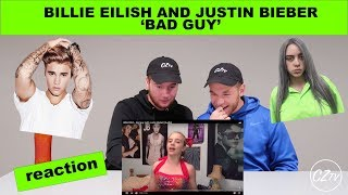 BILLIE EILISH  - BAD GUY (WITH JUSTIN BIEBER) | REACTION