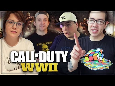 TK HOUSE REACTS TO COD WW2 (Call of Duty: WW2 REACTION)