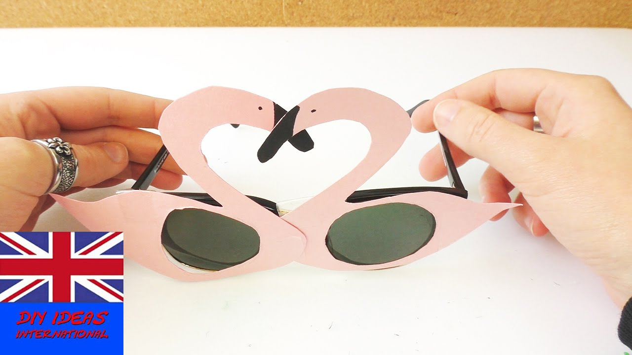 funny flamingo sunglasses flamingo shades diy glasses for summer