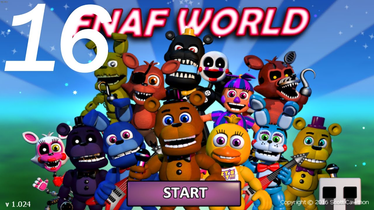 Fnaf World Part 16 Flicking The Switches Gameplay Walkthrough