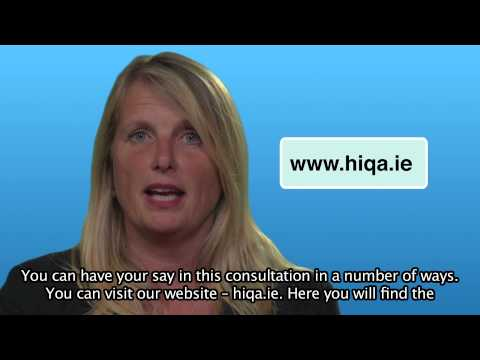 Introduction to Draft National Standards for Residential Care Settings for Older People in Ireland