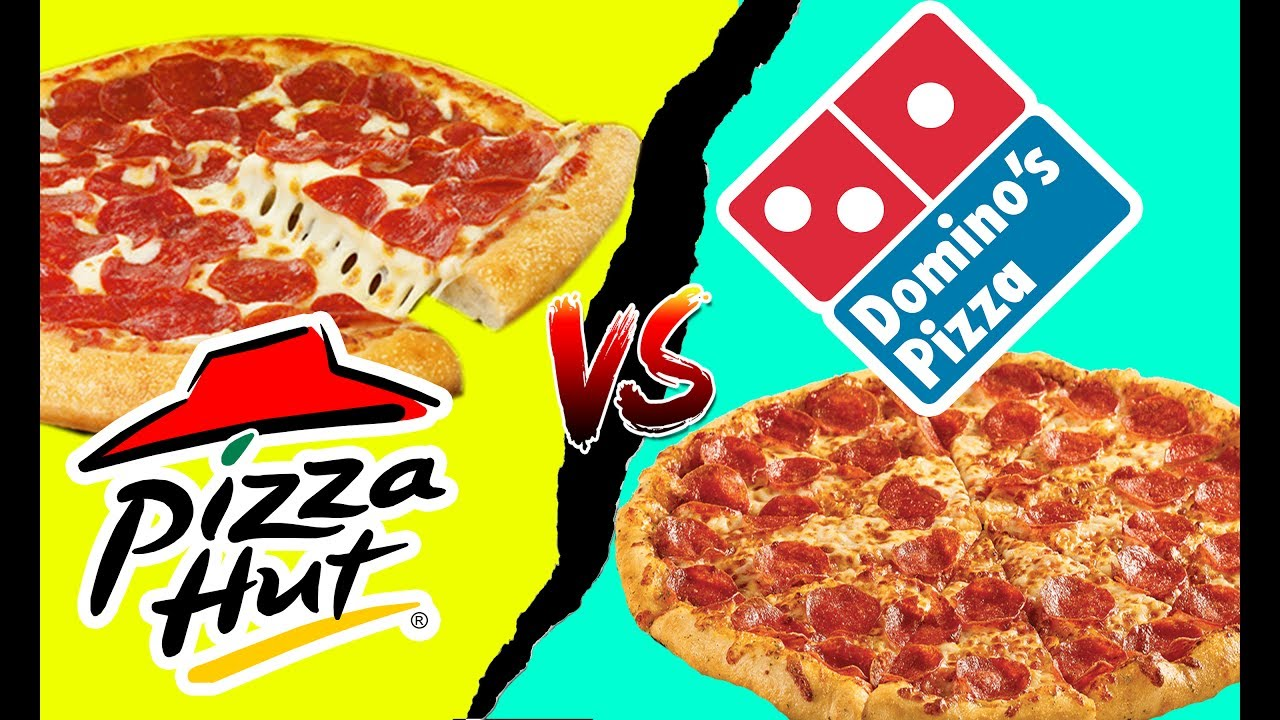 Dominos VS Pizza Hut Pricing