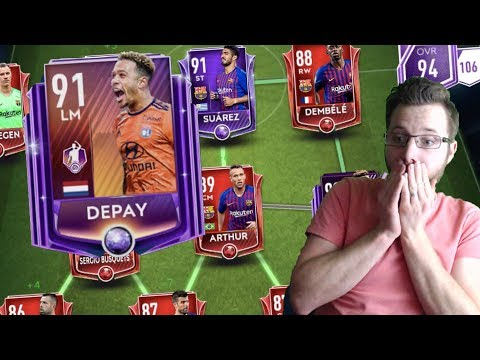 Nobody Saw This Finish Coming Against a 95 OVR Barcelona Squad   New POTM In FIFA Mobile 19 Depay!