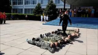 Военно-патриотические игры в Новомосковске 04.05.2017