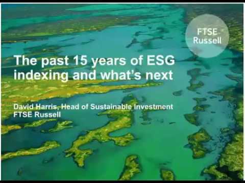P4S Webinar: FTSE Russell and ESG Indexing 1of2