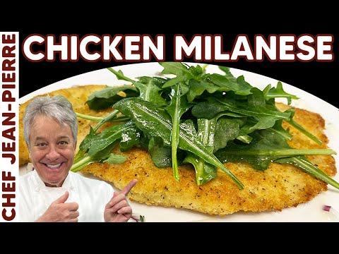 My Favourite Chicken Recipe, Chicken Milanese – Chef Jean-Pierre