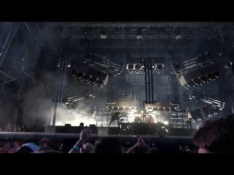 Rammstein - Du Hast - Praha Prague 2017