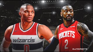 BREAKING: HOUSTON ROCKETS TRADE RUSSELL WESTBROOK TO WASHINGTON WIZARDS FOR JOHN WALL! AND A PICK