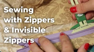Beginner's Guide to Sewing (Episode 12): Zippers and Buttons Part 1