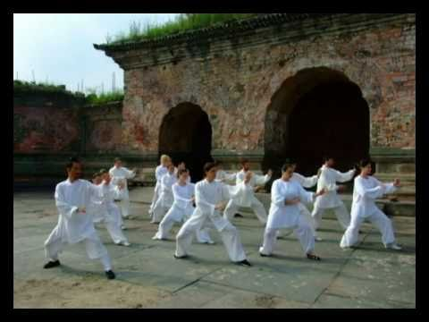 Training in Wudang Mountains 2008