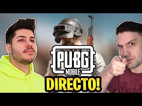 PUBG MOBILE con MATTSINLIFE - DIRECTO DE SALAS Y MINIJUEGOS!