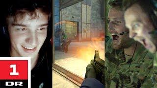 CSGO-spiller vs. soldater Versus DR1