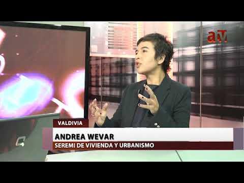 Andrea Wevar, Seremi del MINVU Los Ríos conversó con ATV Noticias