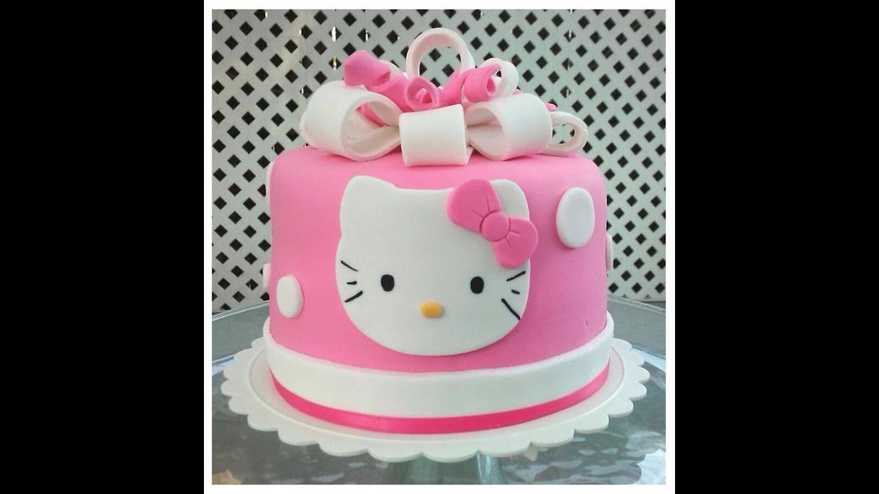 Birthday Cake Hello Kitty Slideshow Youtube