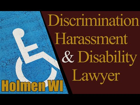 Best Labor Law Discrimination Workplace Harassment Lawyer Holmen WI