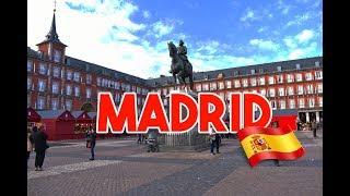 CHEGAMOS EM MADRID   MADRID - ESPANHA #1   O QUE FAZER EM MADRID   VLOG DE VIAGEM