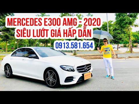Mercedes E300 AMG - 2020 Siêu Lướt Giá Hấp Dẫn. Rẻ So Mới Cả Tỷ Bạc Gọi Ngay Mr: Dũng 0913.581.654