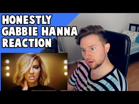 Reacting to HONESTLY by GABBIE HANNA (Music Video)
