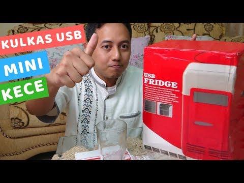 Review USB Mini Fridge Kulkas Mini Kece